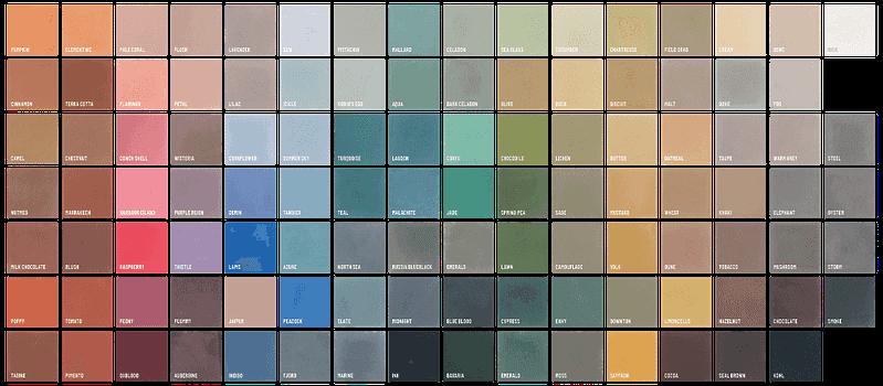 Farben Zementplatten